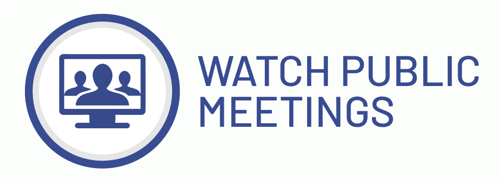Watch Public Meetings