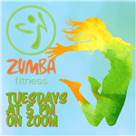 Zumba Tuesdays at 5 PM
