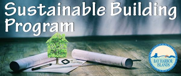 Sustainable Building Program Banner