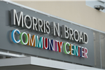 Morris N. Broad Community Center Sign